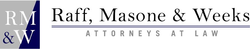 Raff, Masone, and Weeks Logo
